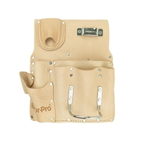 SUR-PRO 8-Pocket Top Grain Right Handed Drywall Pouch  PDRW8R