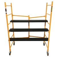 RENEGADE Heavy-Duty 6 FT Portable Folding Scaffold - 6'