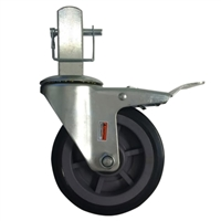 "RENEGADE 6"" HEAVY DUTY Scaffold Casters (Square) WITH PIN  RGDHDC6"