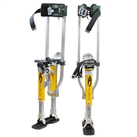 "Sur-Pro Sur-Mag® S2 Dual Pole Magnesium Quad-Lock Drywall Stilts 15-23""  S2-1523MP"
