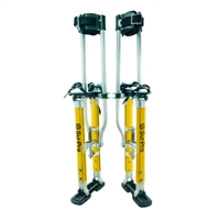 "Sur-Pro Sur-Mag® S2 Dual Pole Magnesium Quad-Lock Drywall Stilts 18-30"" S2-1830MP"