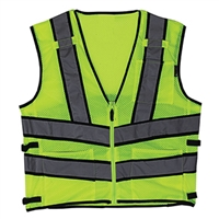SAFETY VEST WITH REFLECTIVE STRIP