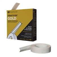 Strait-Flex Gold High-Performance Drywall Corner Bead -100' Roll SFIGOLD100