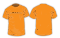 DRYWALL TOOL DEPOT T-SHIRT (SAFETY ORANGE)