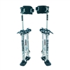 "Sur-Pro Adjustable Aluminum Quad-Lock Drywall Stilts 24-40"" SS2440AP"