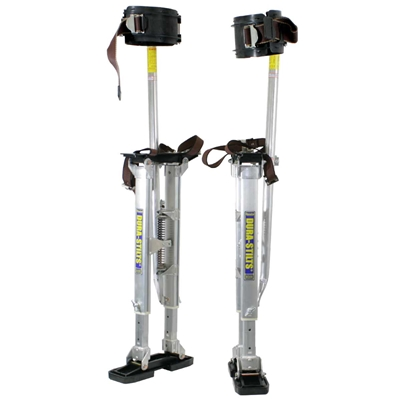 "Dura-Stilts Dura-IV Deluxe Drywall Stilts 24-40"" dura stilt"