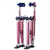 "Professional  24""-40"" Red Drywall Stilts (REACH 10 FT HEIGHT)"