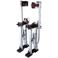 "Professional 24""-40"" Silver Drywall Stilts (REACH 10 FT HEIGHT)"
