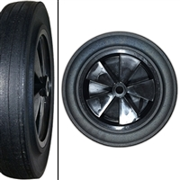 TOTER 1 Rear Replacement Wheel - 1 cu. yd. Trash Truck