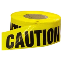 "Yellow Caution Tape 3"" X 1000'"