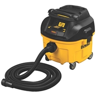 DEWALT 8 GALLON HEPA VACUMN.  DEWALT DWV010 HEPA Dust Extractor with Automatic Filter Cleaning, 8-Gallon DWV010
