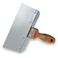 "WAL-BOARD 8"" Stainless Steel wood handle Taping Knife (20001)"