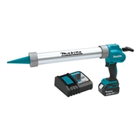 MAKITA 18V LXT Lithium Ion Cordless 20 oz. Barrel Style Caulk and Adhesive Gun Kit (5.0Ah)   XGC01T1B