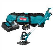 MAKITA 18V LXT Lithium Ion Brushless Cordless Drywall Sander Kit, AWS Capable (5.0Ah)  XLS01T, ELECTRIC SANDER, ELECTRICAL SANDER, BATTERY POWERED SANDER