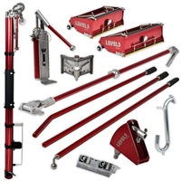 Level 5 Drywall Tools Full Set (Configurable) level 5 taper, level 5 pump, level 5 boxes, level 5 corner finisher, level 5 box handle, level 5 corner box