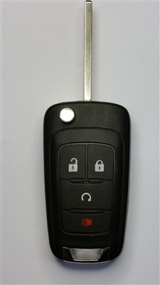 Gm Key Fob >> 2012-2015 OEM Chevy Sonic Keyless Entry Remote Fob Flip Key