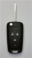13574862 2010-2016 OEM Chevy Sonic Keyless Entry Remote Fob Flip Key