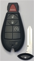 OEM Jeep  56046928AA Keyless entry Remote with Remote Start.
