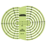 Alvin Civil Engineer Radius Guide Template