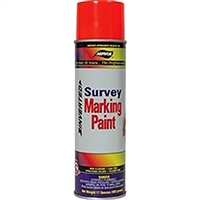 Aervoe Survey Marking Paint - Fluorescent Red