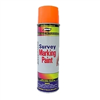 Aervoe Survey Marking Paint - Fluorescent Orange
