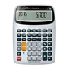 silver desktop calculator for construction