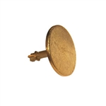 "Sokkia 2-1/2"" Brass Survey Marker"