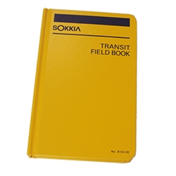 Sokkia Transit Field Book