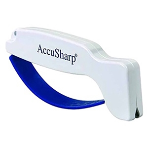 AccuSharp Handheld Knife & Tool Sharpener | White