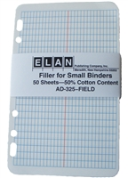 Elan AD-325F Field Book Page Filler Package