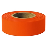 Presco Arctic Flagging Tape - GLO Orange