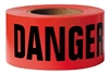 "Red 3"" x 1000' ""DANGER"" Tape"