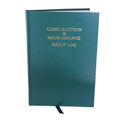 Construction Daily Log Book