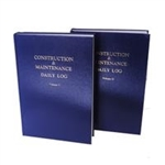Construction Daily 2V Log Book
