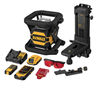 DEWALT 20V MAX* Tool Connect Red Tough Rotary Laser Level