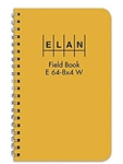 Elan E64-8X4WYE Wire Bound Field Book