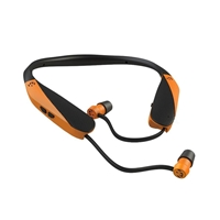 Walker's Razor XV Blaze Orange Earbud Headset
