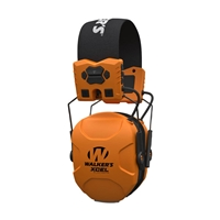 Walker's XCEL Blaze Orange Digital Muffs with BlueTooth