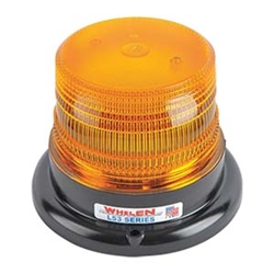 Whelen LED Amber Beacon with Magnetic Mount