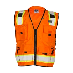 Kishigo Professional Surveyor's Vest Orange