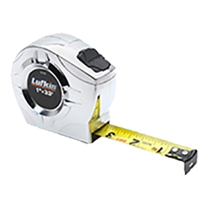 Lufkin 33 ft Engineer's Measuring Tape – Tenths/Inches