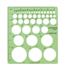Pacific Arc Circle Master 45-Circle Template