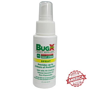 Certified Safety BugX Insect Repellent Spray - Deet Free (2 oz.)