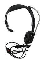 JobCom Single Headset with Push-to-Talk