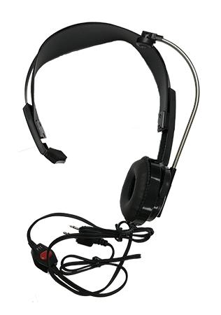 Jobcom Single Headset With Push To Talk