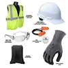 Radians Deluxe Employee Safety Starter Kit with Bag