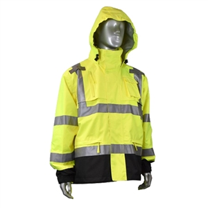 Radians Heavy Duty Rip Stop Waterproof Rain Jacket