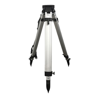 SitePro Heavy Gauge Aluminum Tripod with Dual Clamp