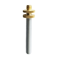 "SitePro 5/8""-11 QuickTipâ""¢ Adjustable Pole Adapter with Locking Nut"