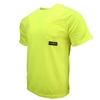 Radians ST11-N Non-Rated Short Sleeve Safety T-shirt with Max-Dri